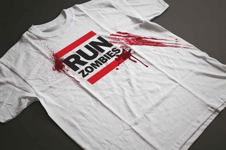 Fun zombie t-shirt